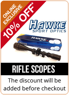 10% Off all hawke scopes