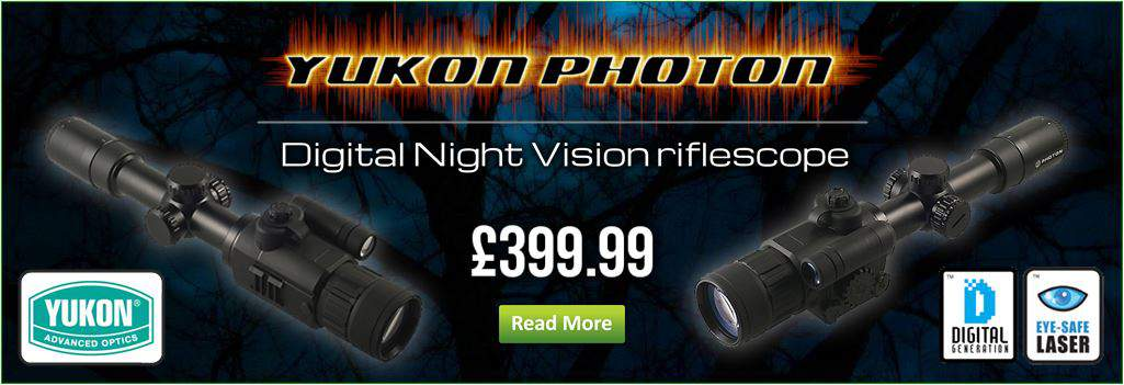 Yukon Photon Night Scopes Now In Stock